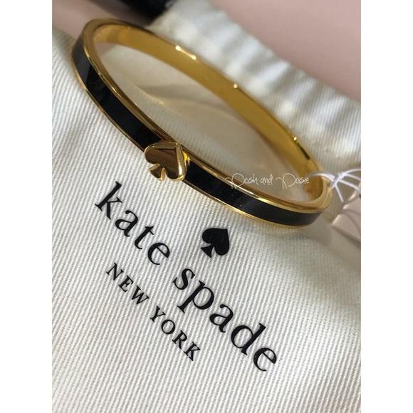 ♠️ kate spade Spade Thin Enamel Bangle NWT